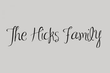 Hicksfamilyoflove.blogspot Logo